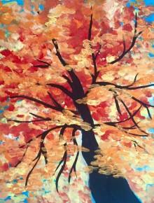 Art and Canvas at Full Circle Café, October 2, 2017