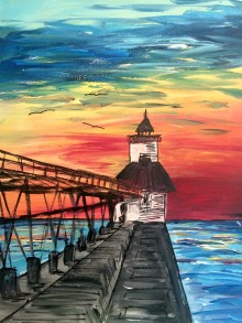 Lighthouse Painting: August 22nd, 2019