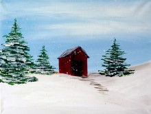 Oakridge Community Church Winter Painting Party