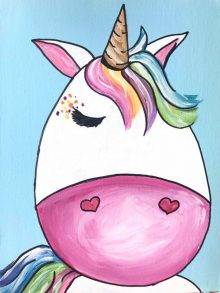 Kids Unicorn/Horse Painting