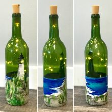 Lighthouse Wine Bottle, February 13th, 2020
