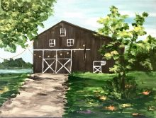 Barn Painting: October 7th, 3:00-6:00pm