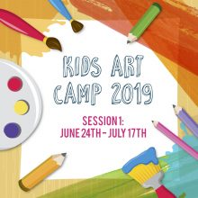 Kids Art Camp 2019: Session 1