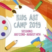 Kids Art Camp 2019: Session 2